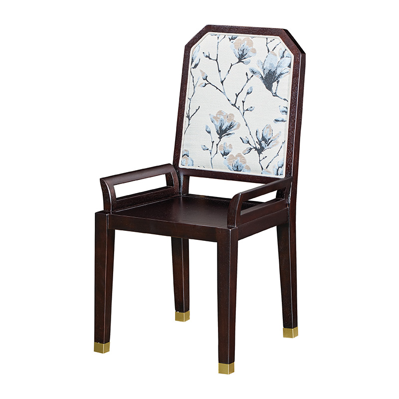 苏园-黑檀木新中式餐椅8613