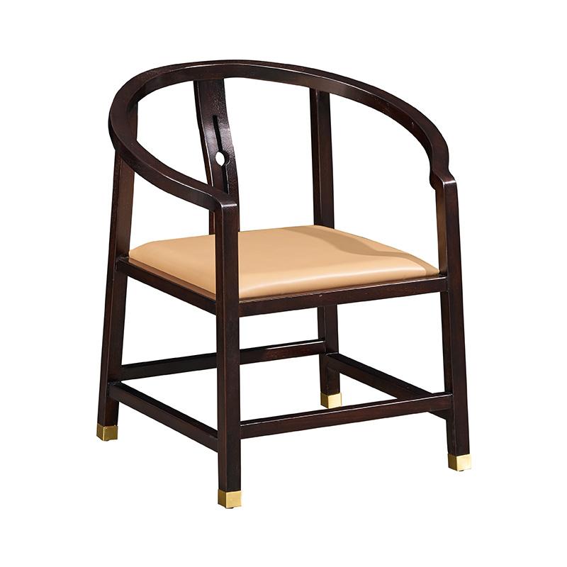 苏园-黑檀木新中式茶椅8512
