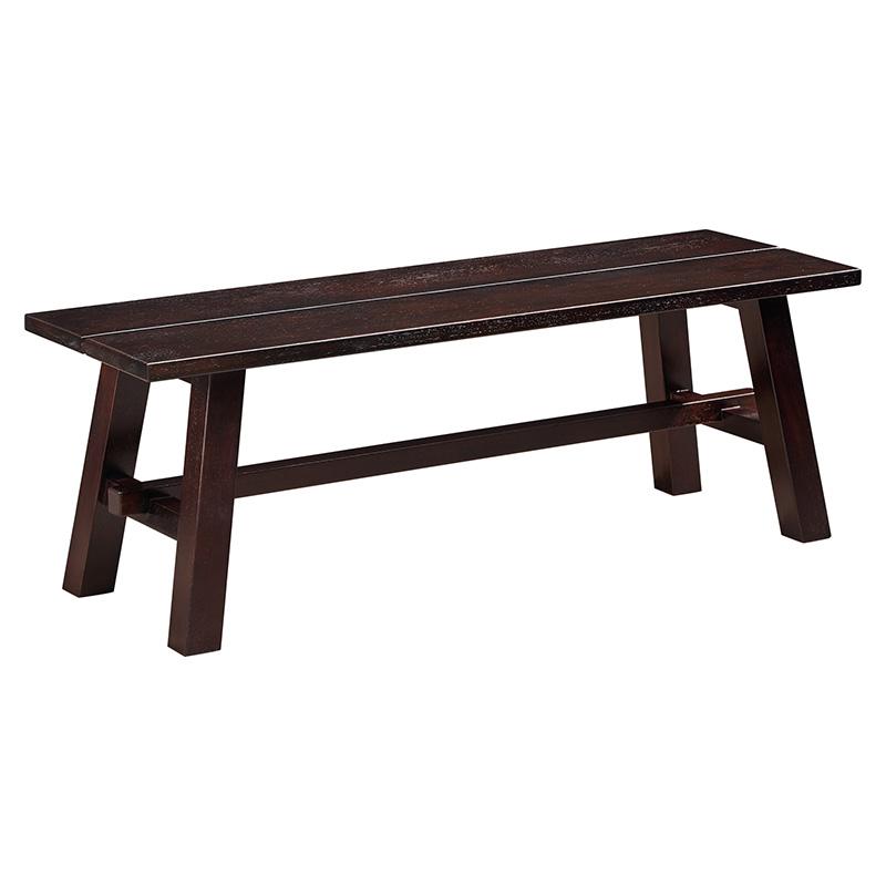 苏园-黑檀木新中式长条凳8615