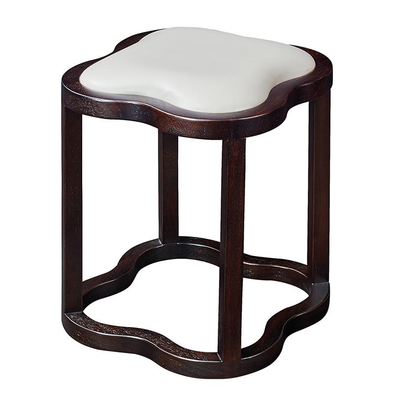 苏园-红翅木新中式妆凳8706