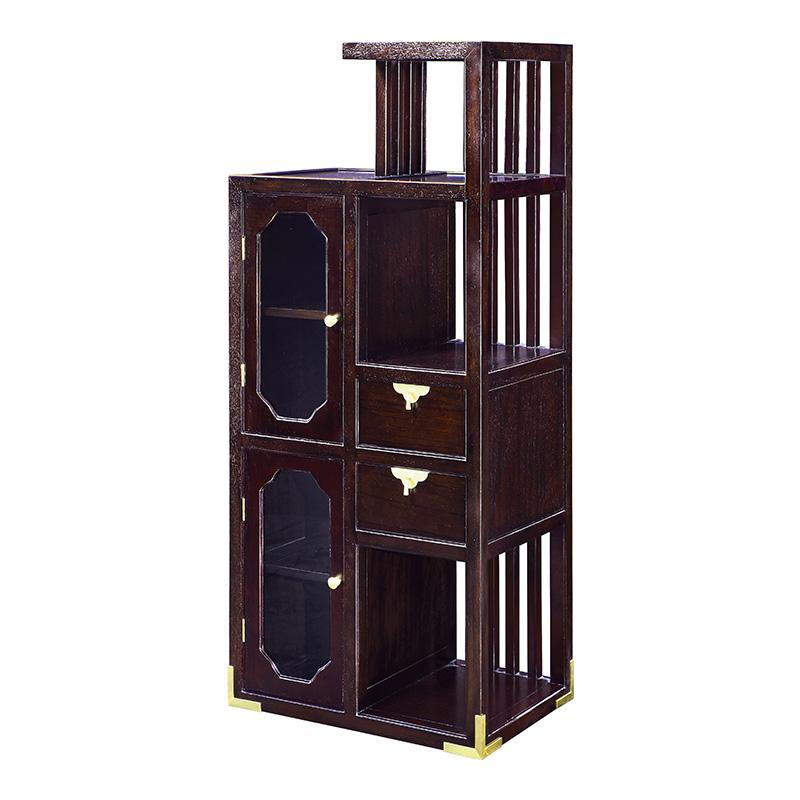 苏园-红翅木新中式组合高柜8306