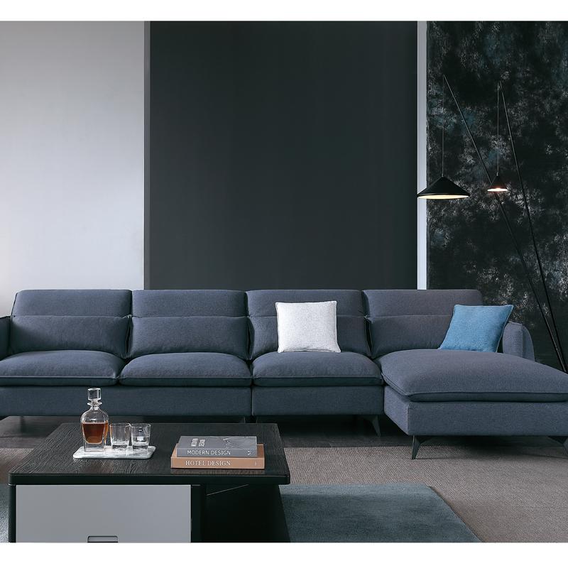 古诺现代B8081#单位,三位,贵妃沙发组合