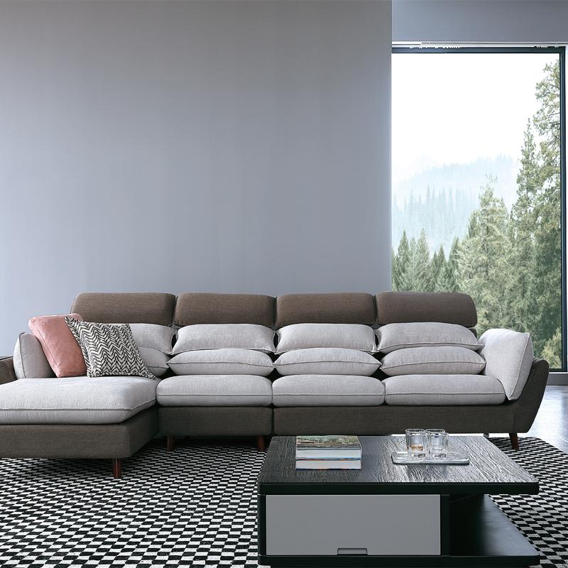 古诺现代B9005#贵妃,单位,三位沙发 1+3+贵