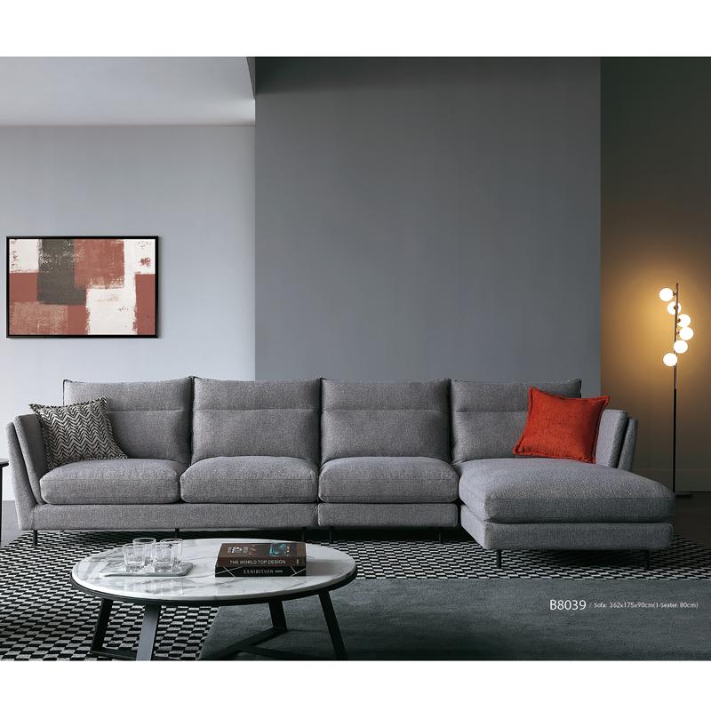 古诺现代B8039#贵妃,单位,三位沙发组合