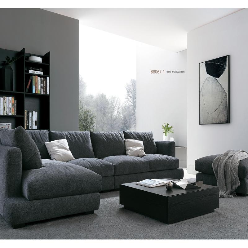 古诺现代B8067#贵妃,单位,三位沙发组合 1+3+贵