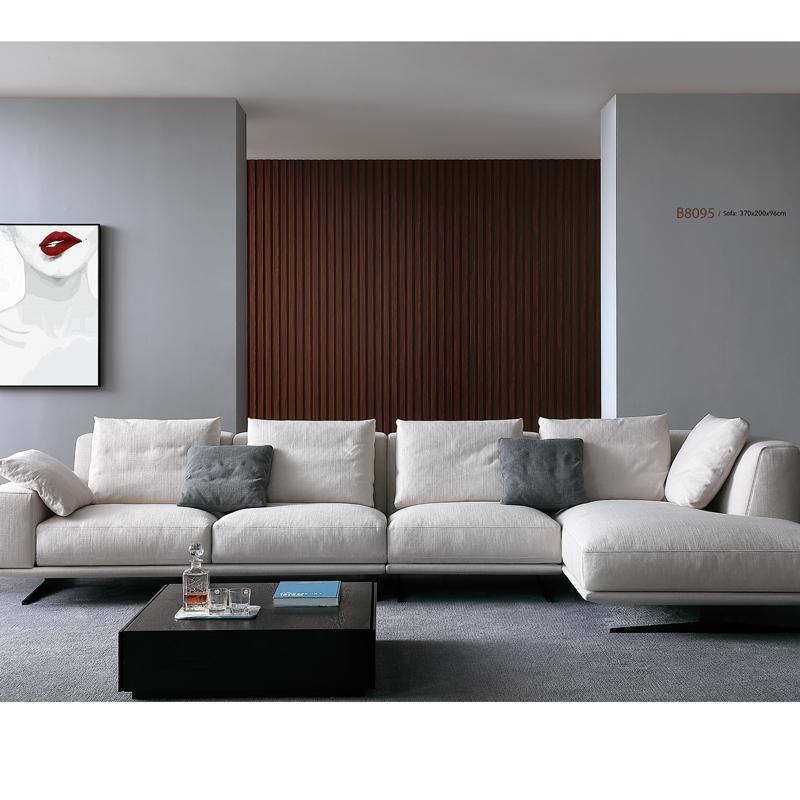 古诺现代B8095#贵妃,单位,三位沙发组合