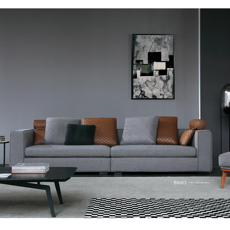 古诺现代B8063#四位沙发