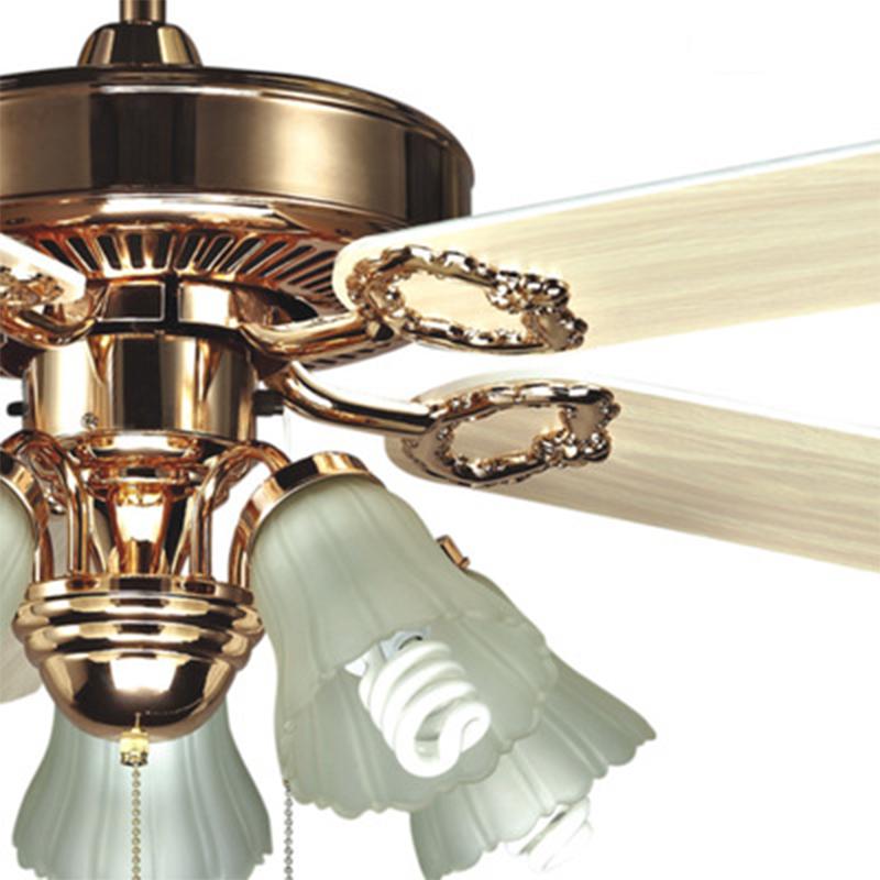 生活本美式风A6602吊扇灯  42寸3头(1120mm)线控