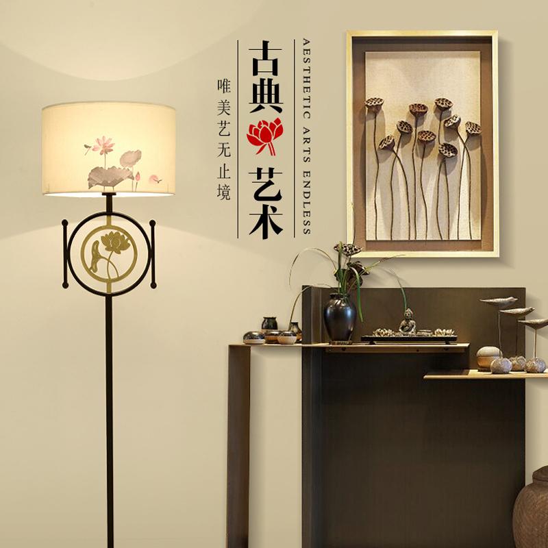 生活本中式风A2005落地灯 E27-5w LED白光