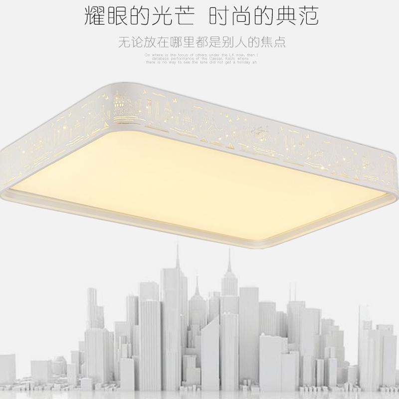 生活本现代简约A1001城市之都吸顶灯 白光  500圆24W