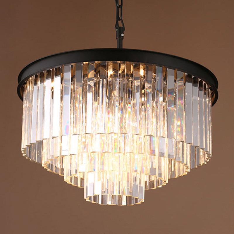 生活本美式满天星 A6070水晶吊灯