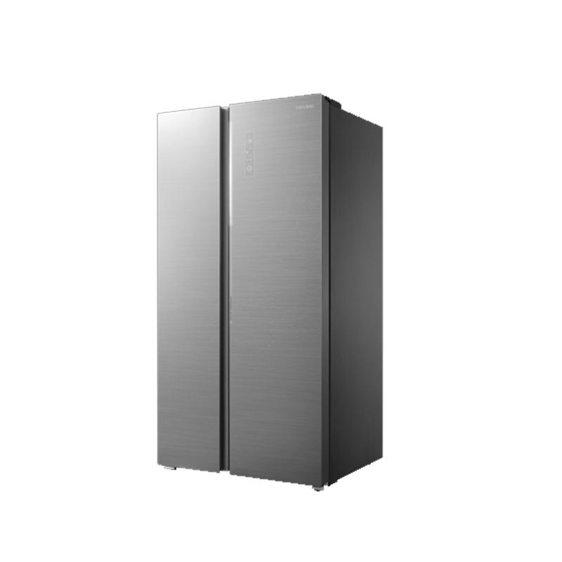 美的BCD-630WKGPZV冰川银对开门冰箱