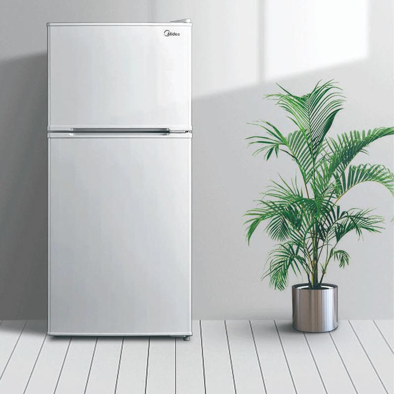 美的BCD-112CM白色冷冰箱