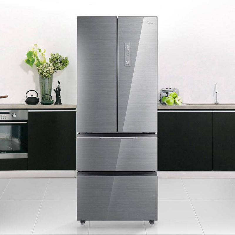 美的BCD-435WGPZM冰川银冰箱