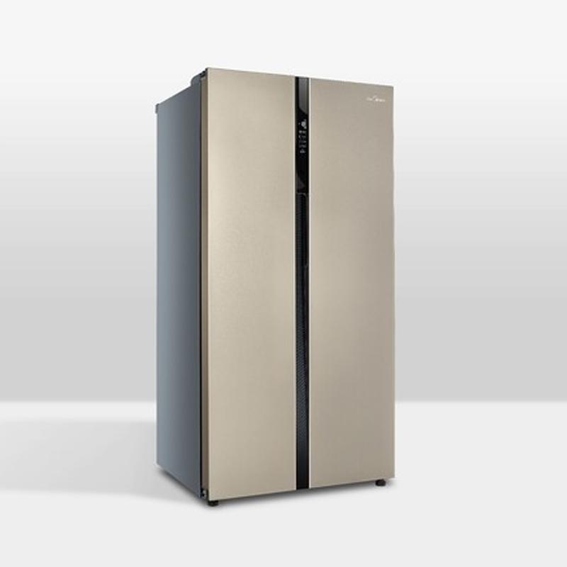 美的BCD-545WKM(Q)芙蓉金冰箱