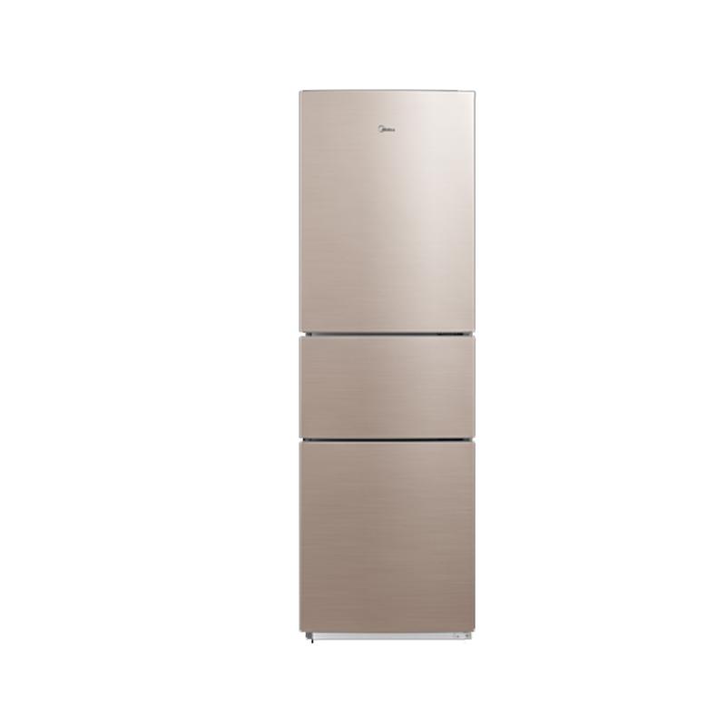 美的BCD-217WTM爵士棕冰箱