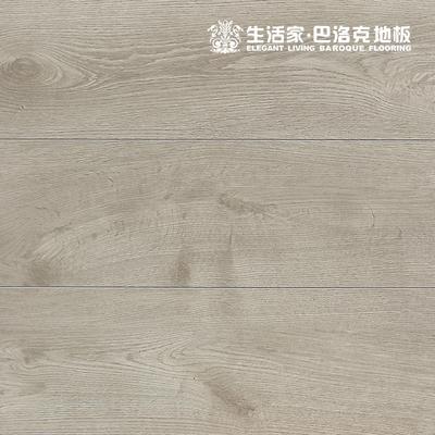 生活家地板雾光白橡JS3002