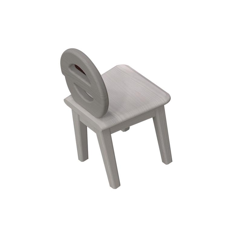 侨利DK06(水洗白)小凳子
