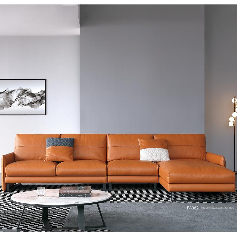 古诺现代B8062#贵妃,单位,三位沙发组合