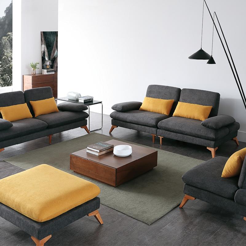 古诺现代B8002#脚踏,单位,双位,三位沙发组合