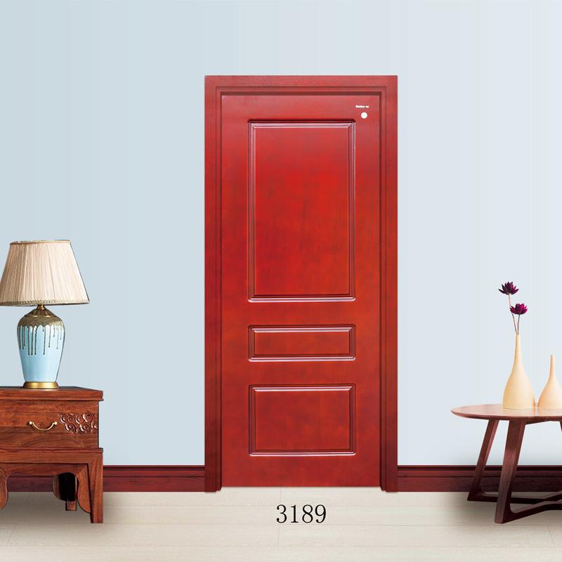 美心木门新品贴皮门系列3189