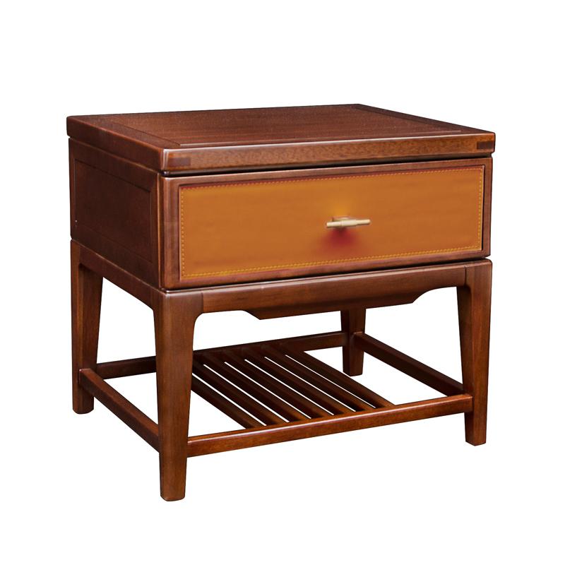 森盛庐境新中式床头柜AB02