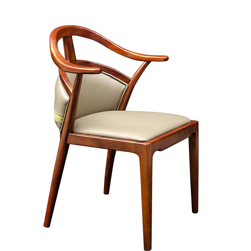 森盛庐境新中式餐椅AN01