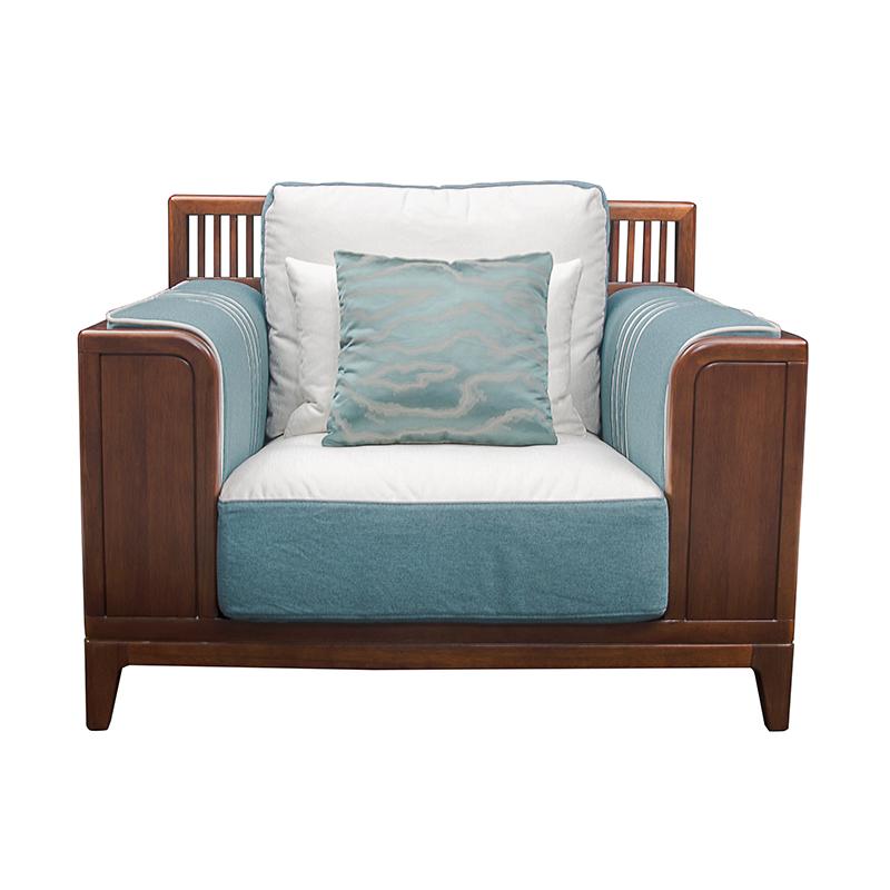 森盛庐境新中式ASFG08 单位沙发
