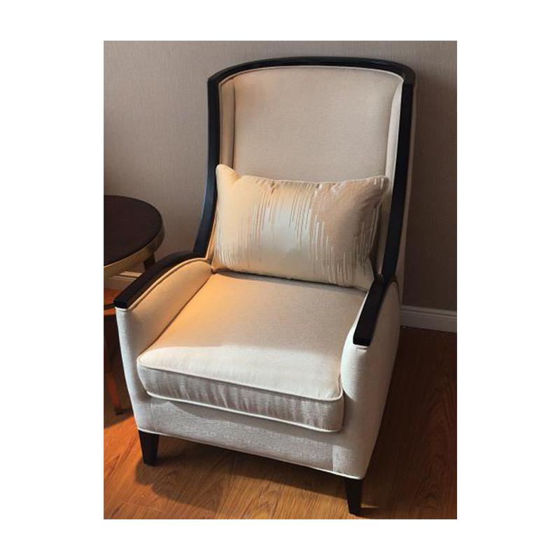 蓝晨中式单椅YD09 真皮