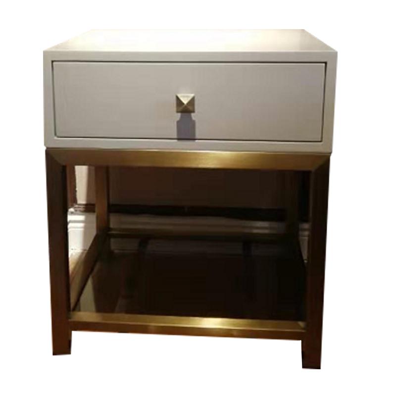 蓝晨月岛中式床头柜YD01B