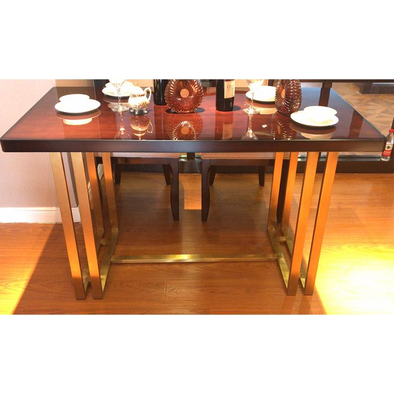 蓝晨月岛中式长餐桌YD02
