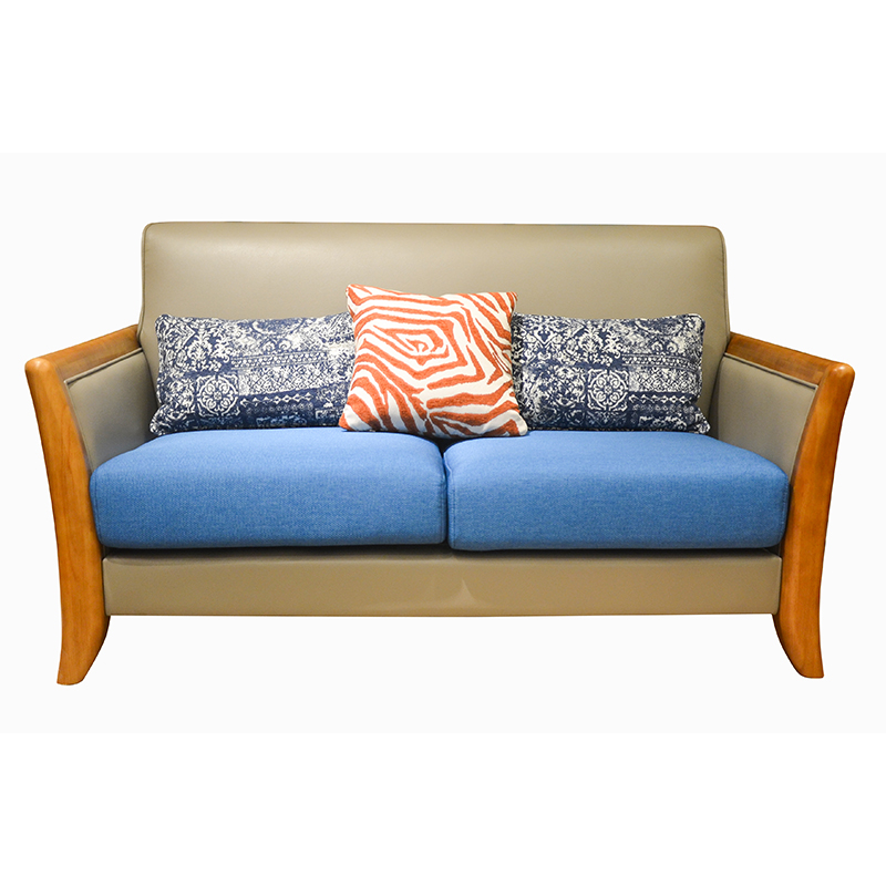 森盛美胡现代双人沙发SFG5028