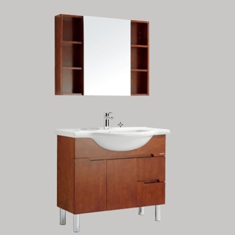 法恩莎卫浴实木浴室柜FPGM3661G