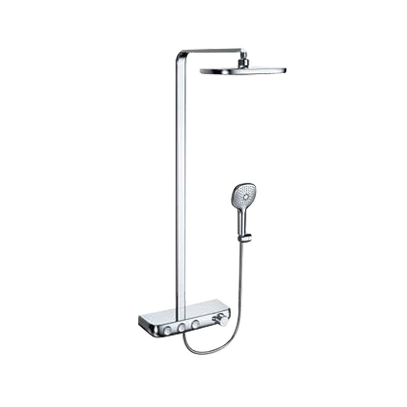 贝朗恒温淋浴柱 F6389423CP-A1(带出水嘴/扁管)