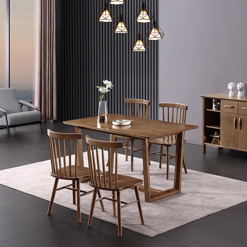 尊赫北欧餐桌椅组合餐桌302-316 餐桌302