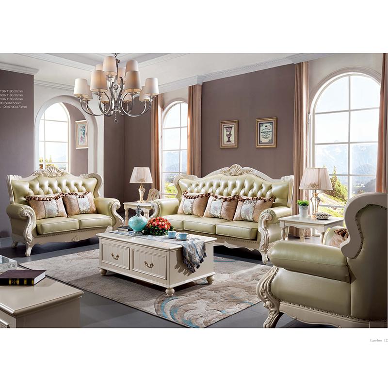 蓝晨蓝色印象简欧沙发K3302 单位沙发