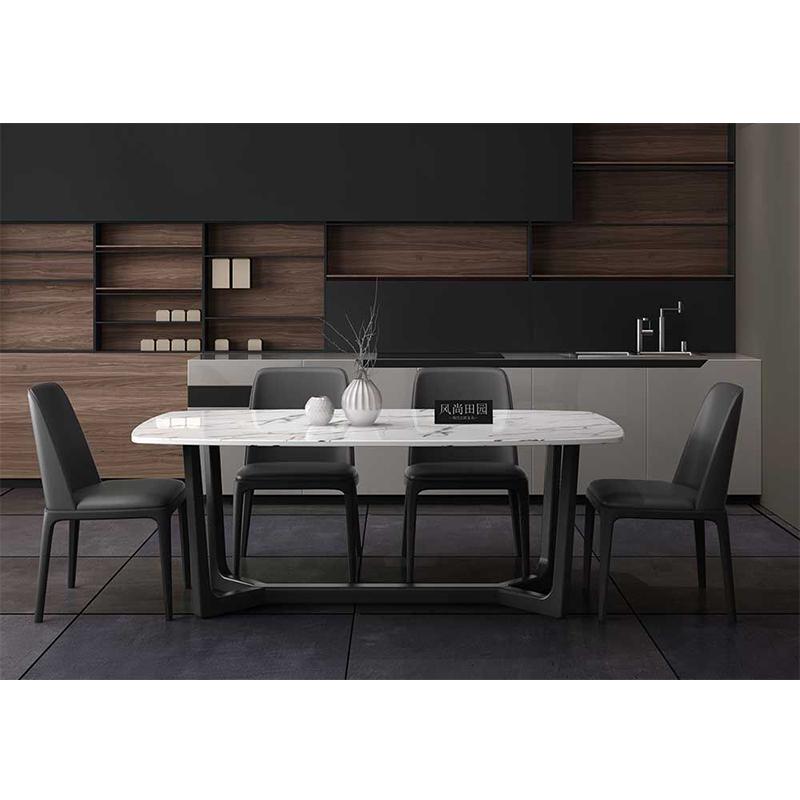 名艺轩现代北欧 T111餐桌椅组合 1.35餐桌