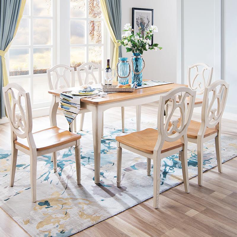 森盛罗曼+法式餐桌Q9001 餐桌