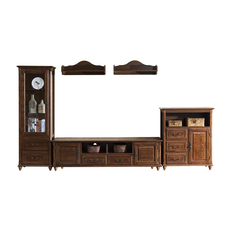 森盛舒美美式组合电视柜G6001B