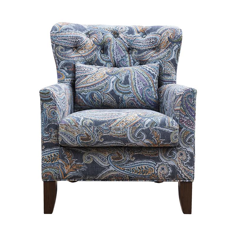 森盛舒美美式沙发XY6002