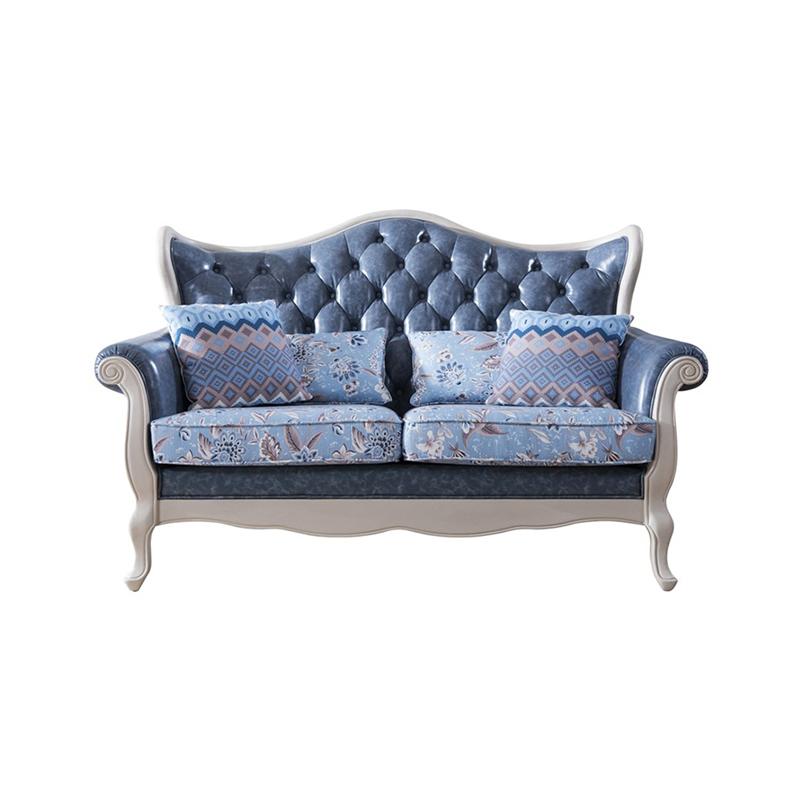 森盛罗曼+法式双人沙发SFG9008