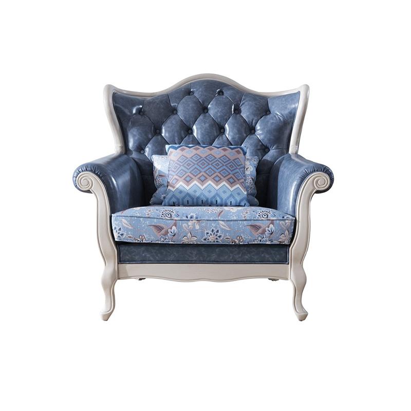 森盛罗曼+法式单人沙发SFG9008