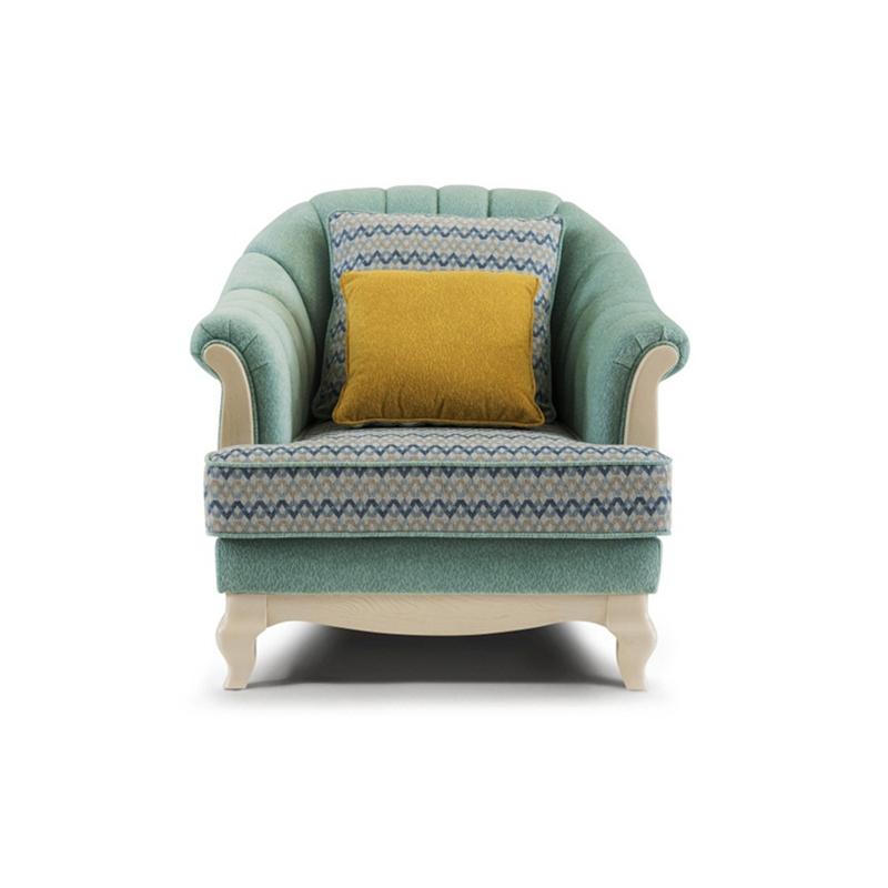 森盛罗曼+法式单人沙发SFG9003