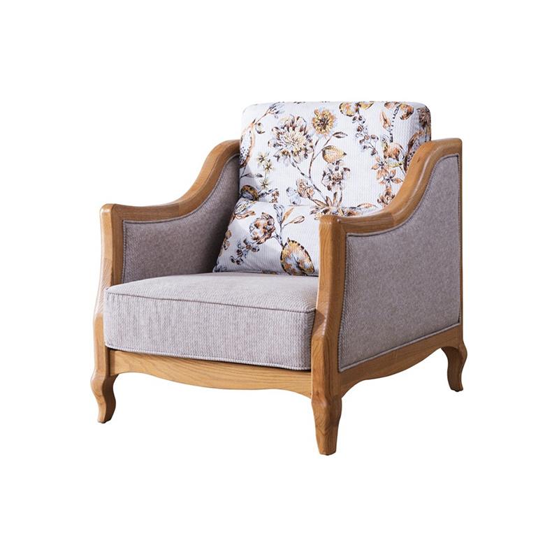 森盛罗曼+法式单人沙发SFG9001