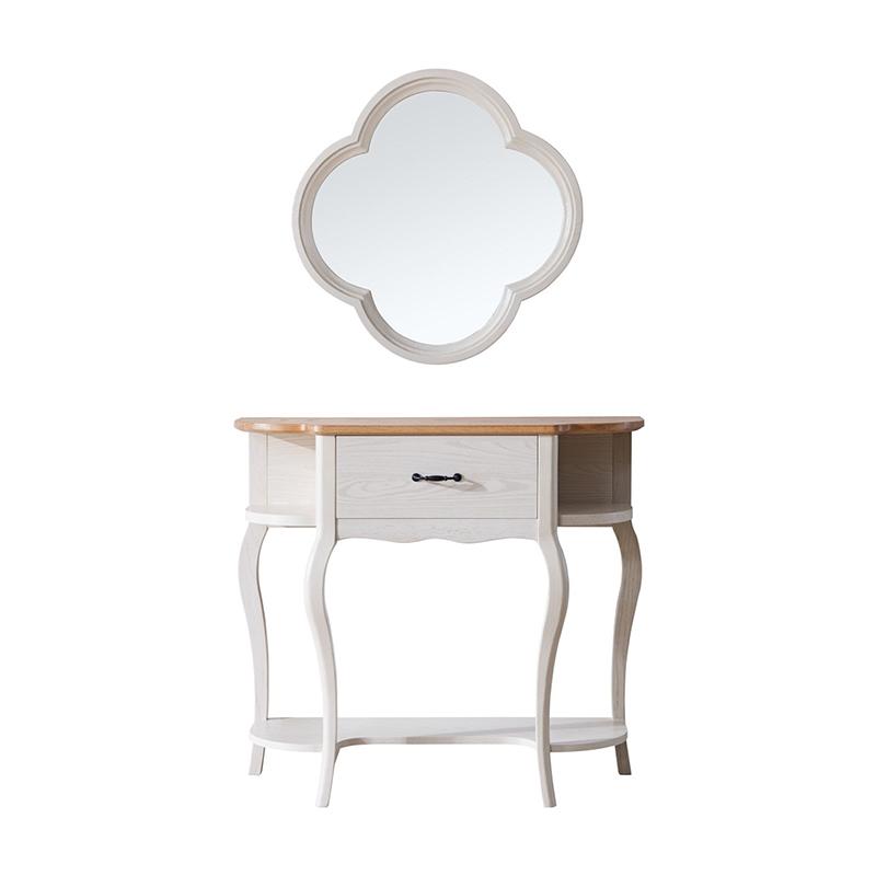 森盛罗曼+法式玄关柜+挂镜XG9001