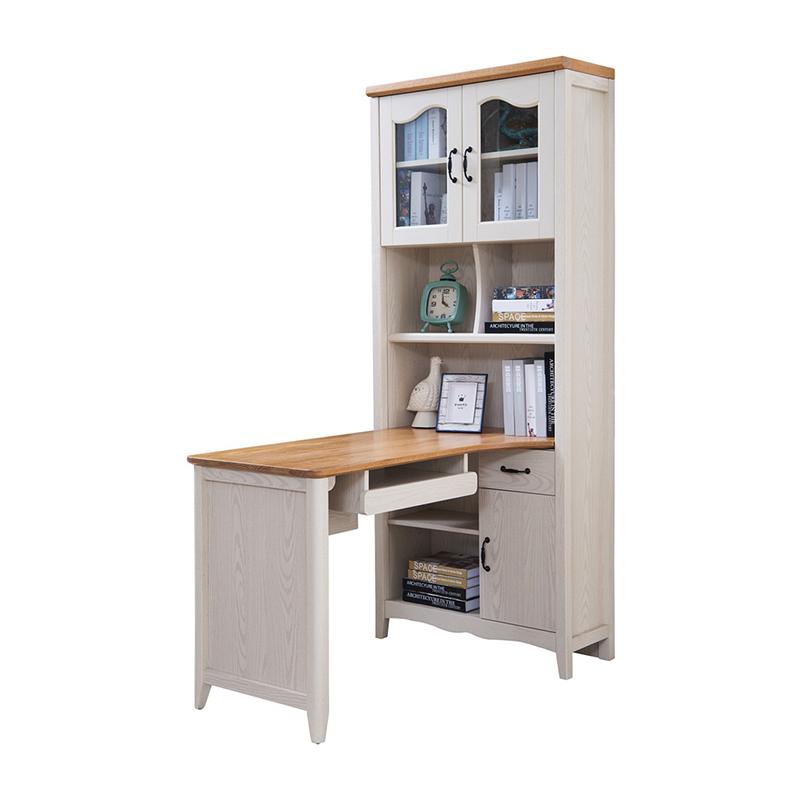 森盛罗曼+法式组合书柜S9005