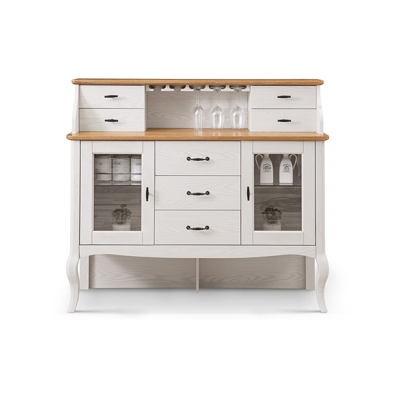 森盛罗曼+法式餐边柜M9001