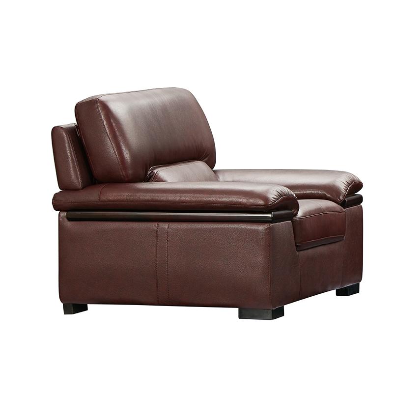 富牌家具现代休闲FS600双扶手单人沙发