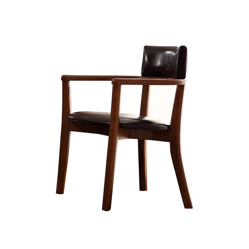 森盛美胡现代书椅BY5001