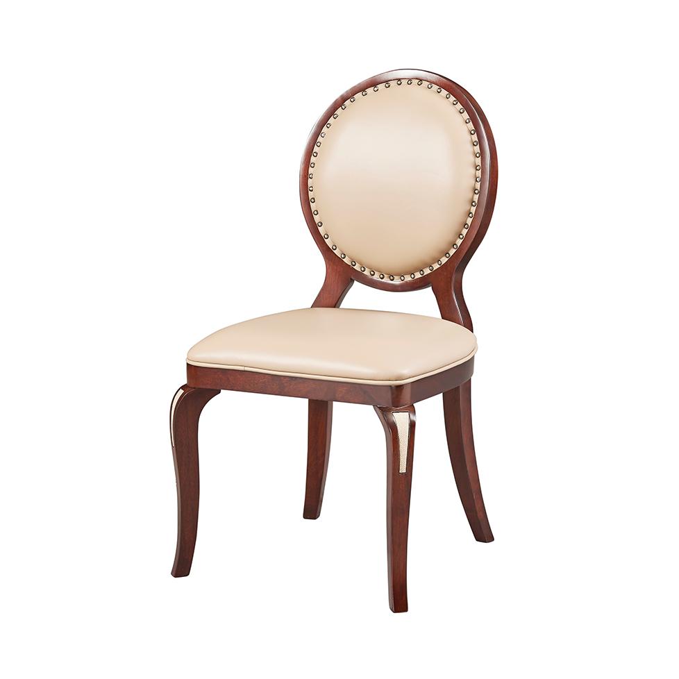 库普思美式轻奢无扶手椅KH-118